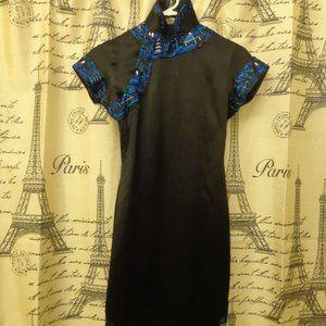 Vintage Embroidery Design Japanese Kimono Dress